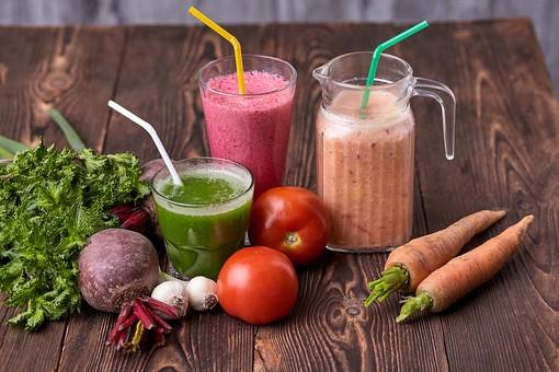 野菜中心の低カロリーな食事
