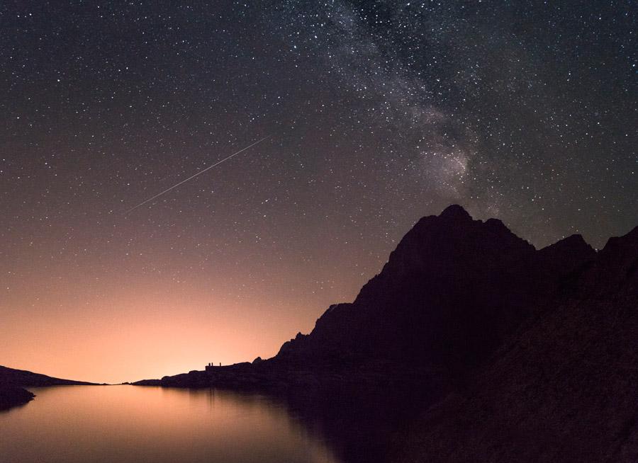 流れ星が見えるスポット