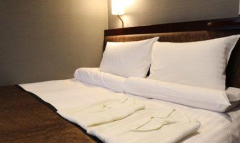 ホテルで男女の関係を結ぶ