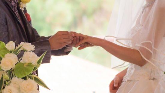 結婚して幸せ